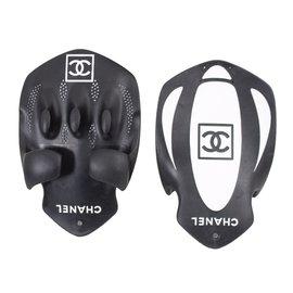 Chanel-palmes a nager-Noir