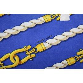 Hermès-Sac à main-Bleu