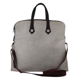 Hermès-Handbag-Beige