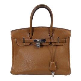 Hermès-Birkin 30-Marron