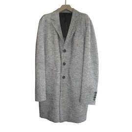 Karl Lagerfeld-Coat, Outerwear-Grey