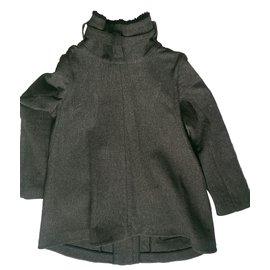 Proenza Schouler-Coats, Outerwear-Grey