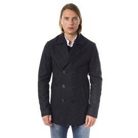 Byblos-Byblos new double-breasted men's jacket-Dark grey