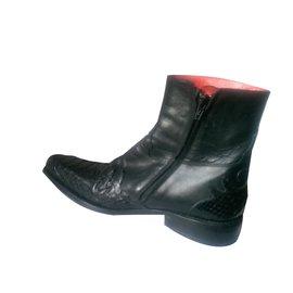 Autre Marque-Jean Babtiste Rautureau Boots-Black