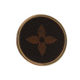 Louis Vuitton-Broche-Marron