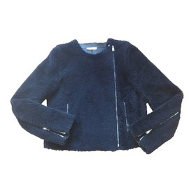 Céline-Jacket-Navy blue