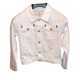 Philipp Plein-Jacket-White