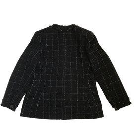 Chanel-Veste-Noir