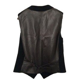 Hermès-Tops-Marron,Noir