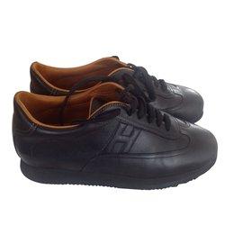 Hermès-sneakers-Noir