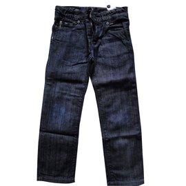 Hugo Boss-Pantalons garçon-Bleu
