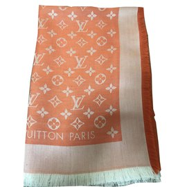 Louis Vuitton-CHâle-Orange