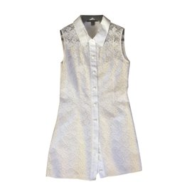 Louis Vuitton-Mini robe-Blanc