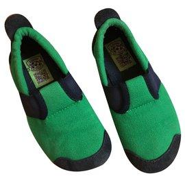 Autre Marque-Living Kitzbühel Slippers-Green