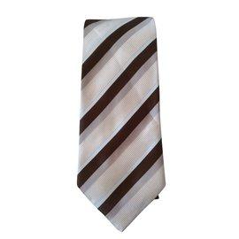 Hugo Boss-Cravate-Beige