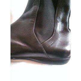 Salvatore Ferragamo-Ankle Boots-Black