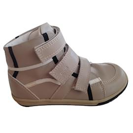 Baby Dior-Sneakers-Black,Beige