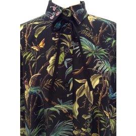 Gucci-blouse cape-Multicolore