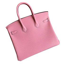 Hermès-Birkin 25 - RARE-Rose
