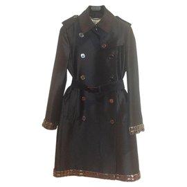 Burberry-Trench coat-Black