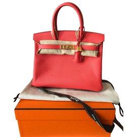 Hermès-Birkin 30-Rose