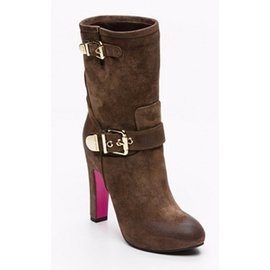 Luciano Padovan-Boots-Light brown