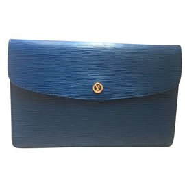 Louis Vuitton-Envelope-Bleu