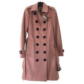 Burberry-Sandringham Trench coat-Pink