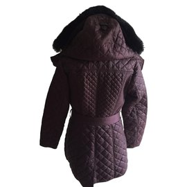 Burberry-Detachable Hood Quilted Showerproof Parka-Other