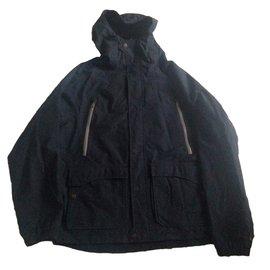 Timberland-Blazers Jackets-Navy blue