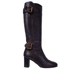 Chloé-Boots-Dark brown