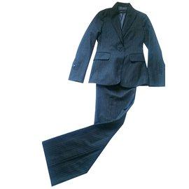 Bcbg Max Azria-Tailleur pantalon-Gris