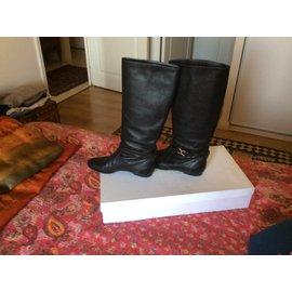 Chloé-Boots-Black