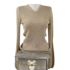 Hermès-Knitwear-Beige