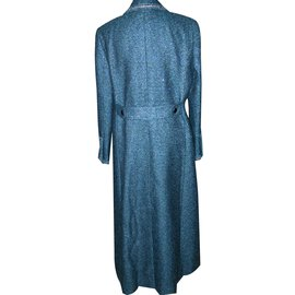 Chanel-Coats, Outerwear-Blue