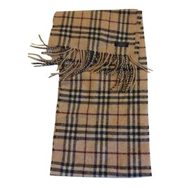 Burberry-Burberry tartan scarf-Multiple colors