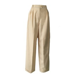 Chanel-CHANEL  Pants-Beige