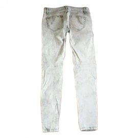 Maje-Jeans-Blanc