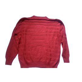 Versace-Sweaters-Red