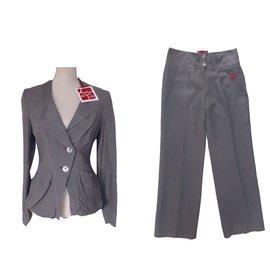 Autre Marque-Aventures des Toiles  Tailleur pantalon-Gris