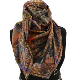 Hermès-PANI LA SHAR PAWNEE-Multicolore ... 226d7e14e70
