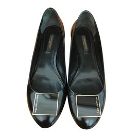 Louis Vuitton-Ballerines-Noir