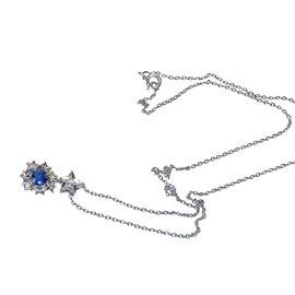Chanel-Pendant necklaces-Blue