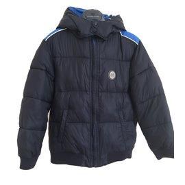 Armani-Blousons Armani Junior-Bleu