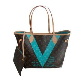 Louis Vuitton-NEVERFULL MM Collector-Marron ... 5401a894982