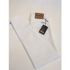 Dsquared2-Jeans-Blanc