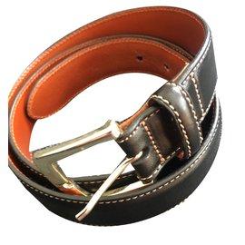 Brook Brothers-Belts-Black