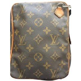 Louis Vuitton-Pochettes vintage-Marron foncé