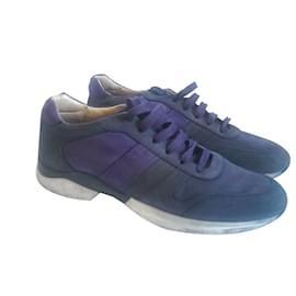 Tod's-Baskets-Bleu,Violet
