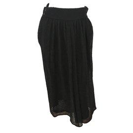 Hermès-Jupe-Noir